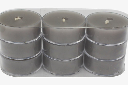 Scented Plastic Tealight Candles (9 pack)