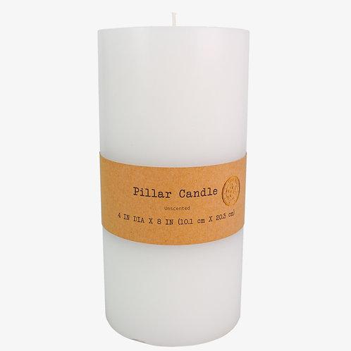 """4"""" x 8"""" Pillar Candle"""