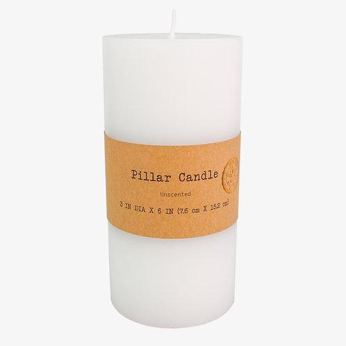 """3"""" x 6"""" Pillar Candle"""