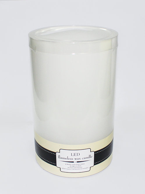 """5"""" x 8"""" LED flameless wax candle"""