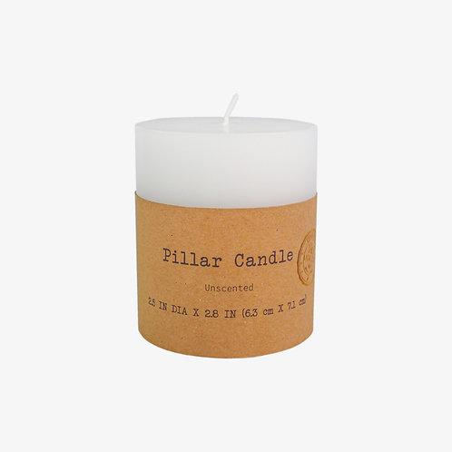 """2.5"""" x 2.8"""" Pillar Candle"""