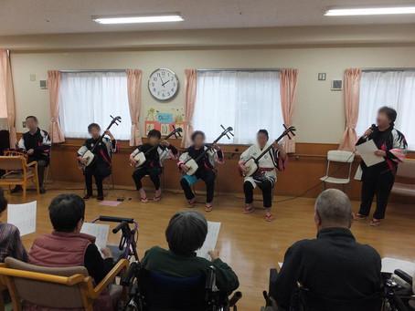 ボランティア(三味線・民謡)
