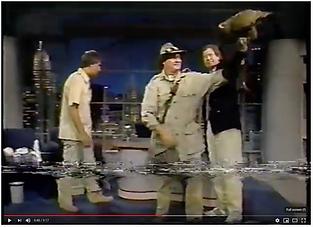 Steve Hoddy on David Letterman Show