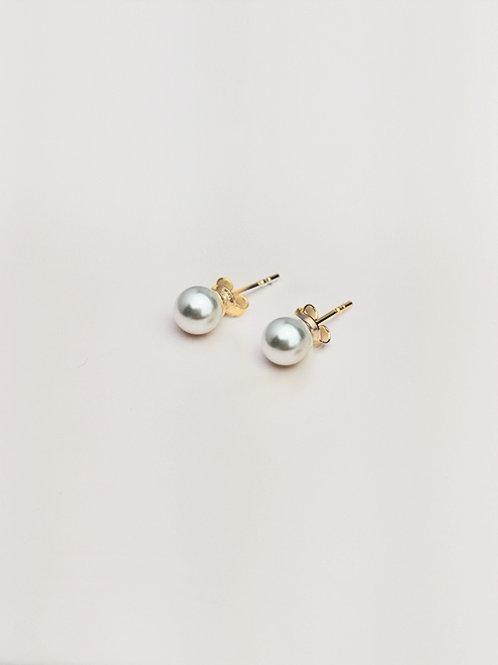 Kolczyki Perla 6mm