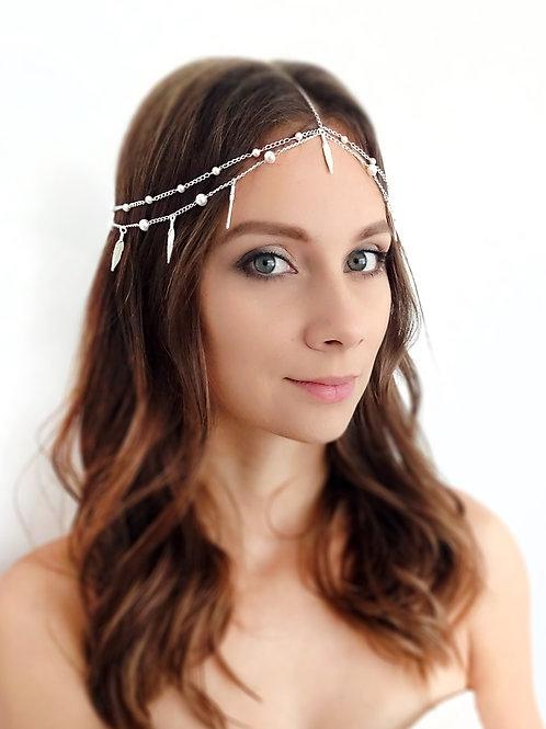 Ozdoba ślubna do włosów Nel
