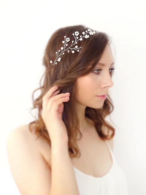 Ozdoba ślubna do włosów Maria