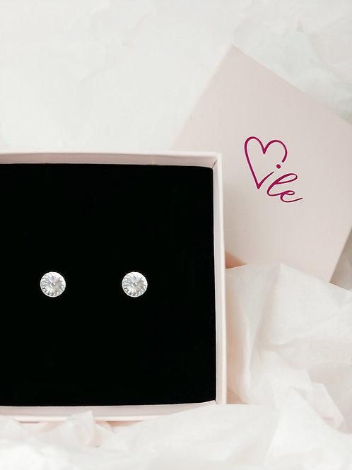 Kolczyki Mia z kryształkami Swarovski