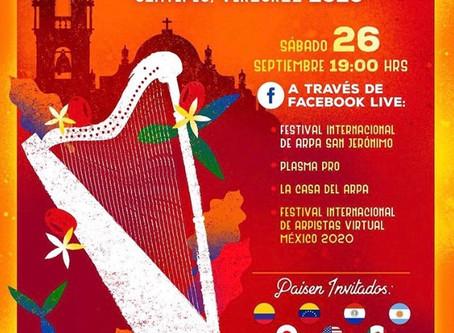 Hermanos Herrera: El Septimo Encuentro Internacional de Arpa San Jeronimo 2020