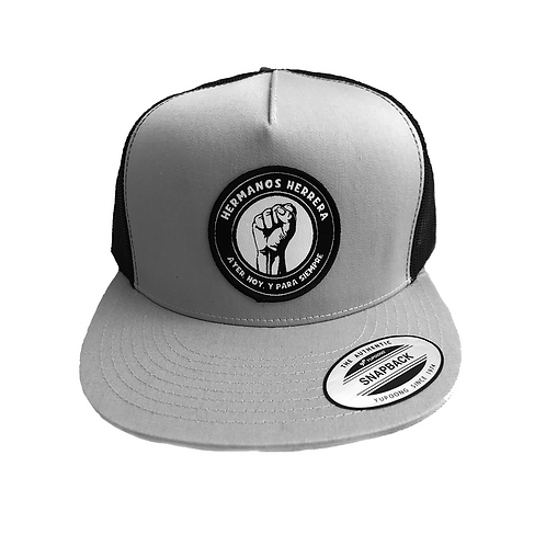 Hermanos Herrera: Gray/Black Trucker Hat