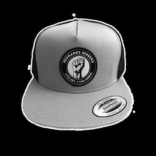 Hermanos Herrera: Gray/Black Trucker Hat