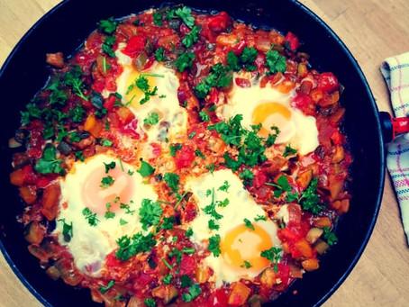 Shakshuka met eieren