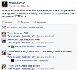 TRX group class