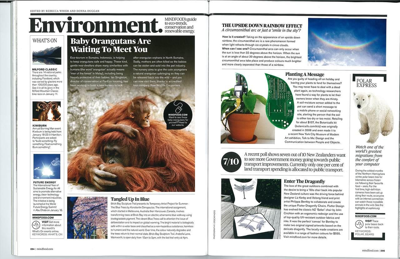 Mindfood magazine, 2013