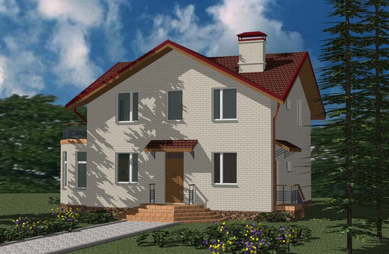 Проект жилого дома 0335