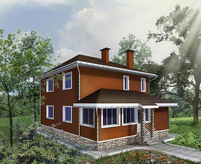 Проект жилого дома 0325