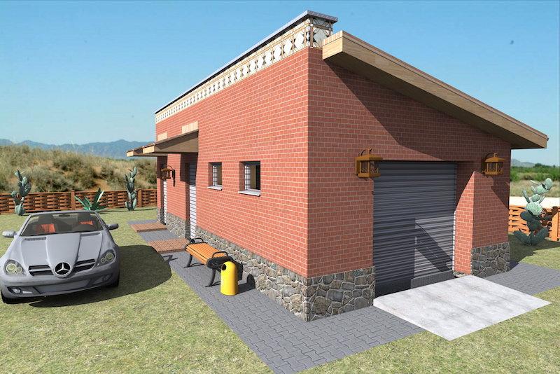 Проект гаража 0809