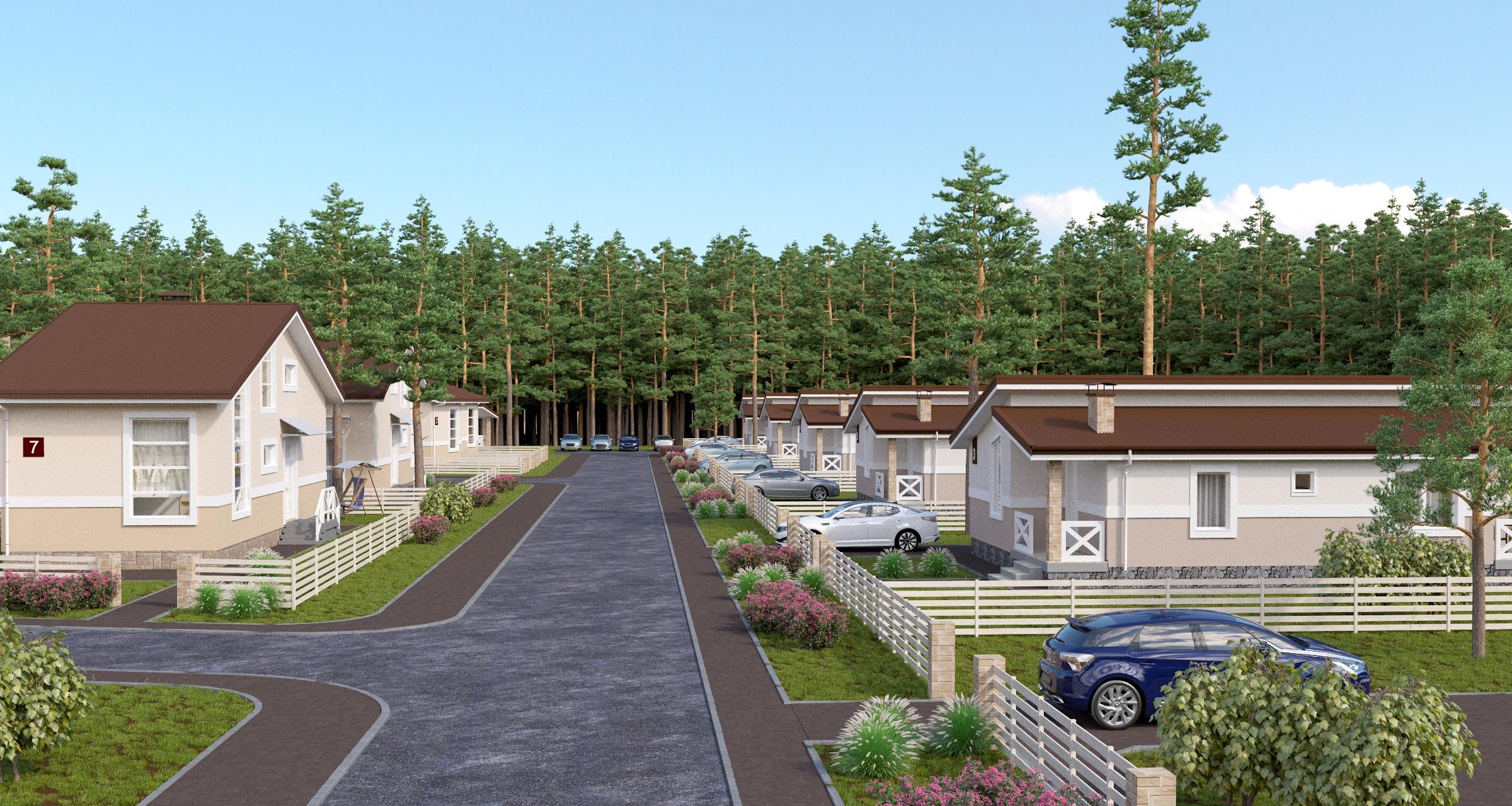 Проектирование Улица поселок Сухановские