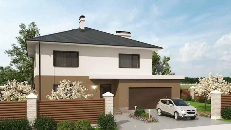 Проект жилого дома 0152