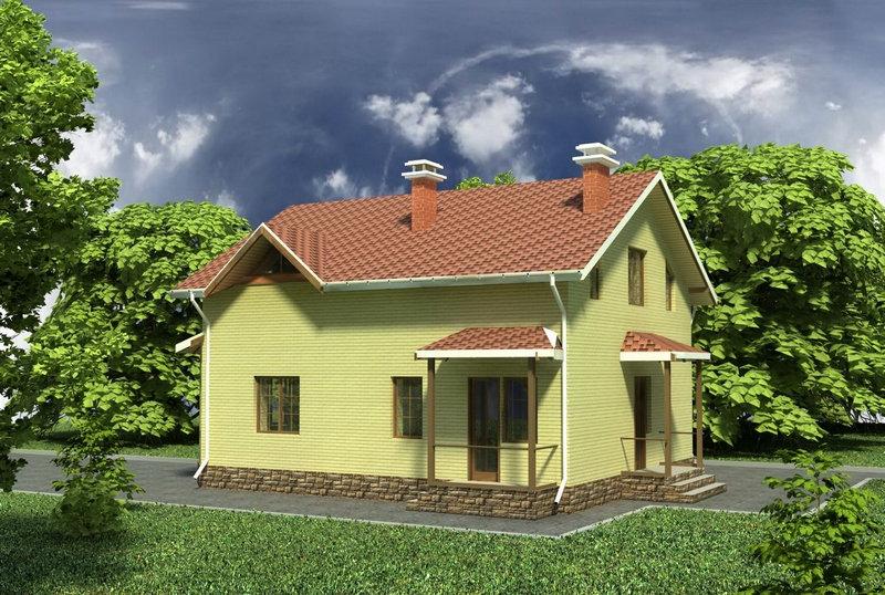 Проект жилого дома 0322