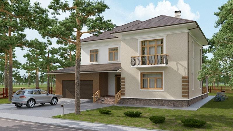 Проект жилого дома 0143