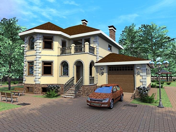 Проект жилого дома 0100