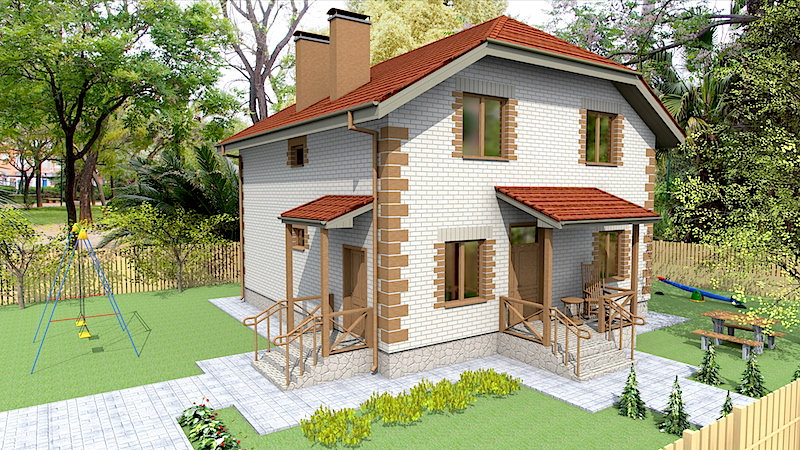 Проект жилого дома 0354