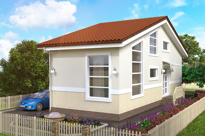 Проект жилого дома 0396