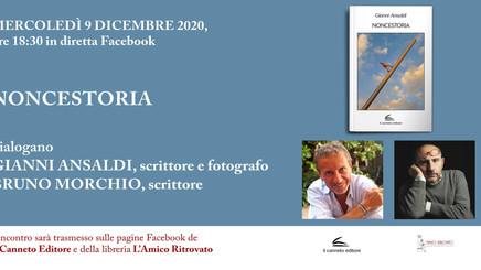Presentazione di Noncestoria - Gianni Ansaldi con Bruno Morchio