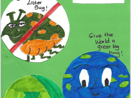 Reduce! Reuse! Recycle! by Nicole