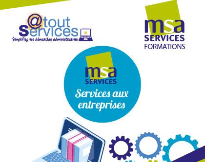 MSA SERVICES : La force d'un groupe, l'action d'un réseau