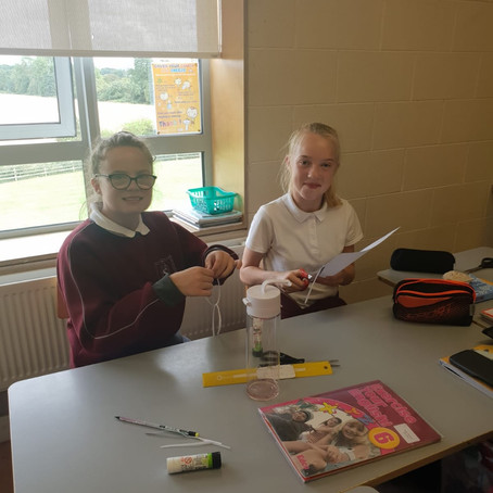 STEM Challenge in 6th Class