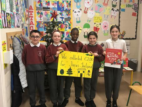 Donation to Focus Ireland
