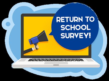 Return to School Questionnaire