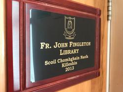 Fr. John Fingleton Library