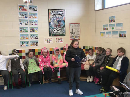 Ms Byrne's 2nd Class Show