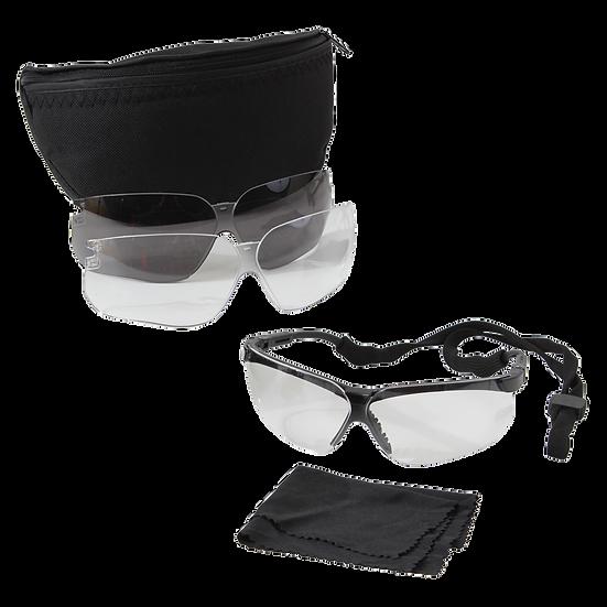 UVEX Genesis Military Eye Protection Kit