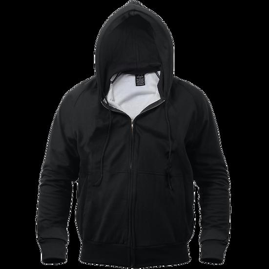 Thermal Lined Hooded Sweatshirt