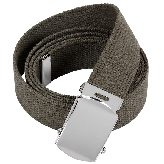Reversible Vintage Leather/Poly Web Belt