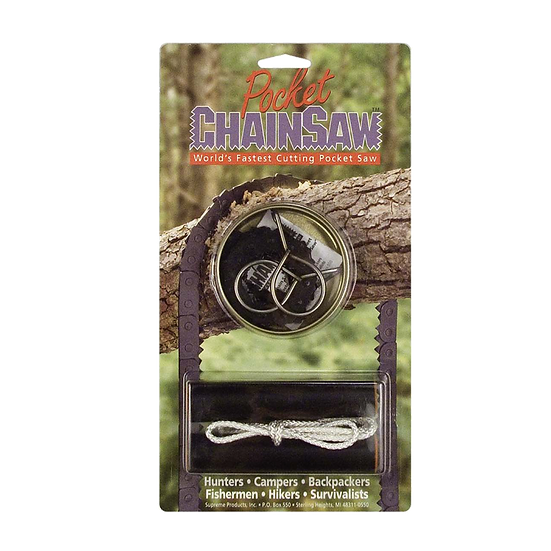Short Kutt Pocket Chain Saw
