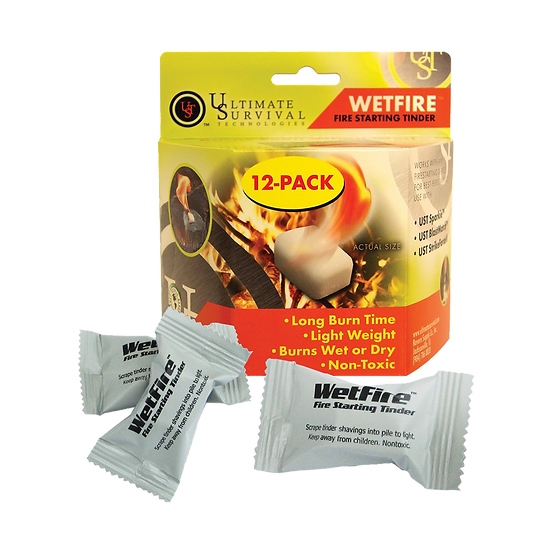 Wetfire Fire Starting Tinder / 12 Pack