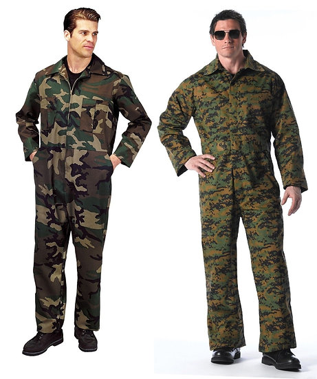 Military Unlined Coveralls