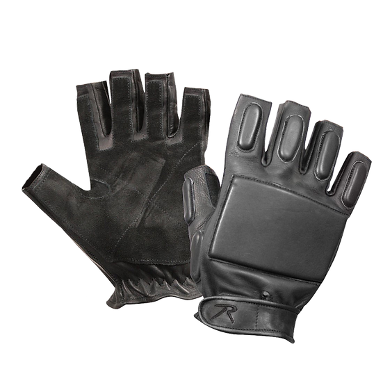 Tactical Fingerless Rappelling Gloves