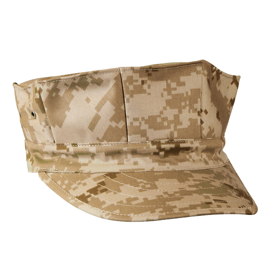 Marine Corps style Poly/Cotton Cap With Out Emblem