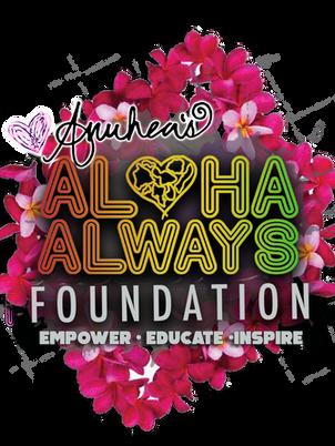 Aloha Always Foundation Logo Lei Day