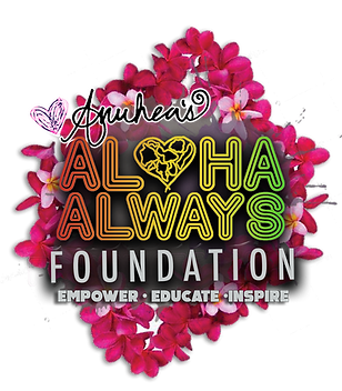 Aloha Always Foundation Logo Lei Day