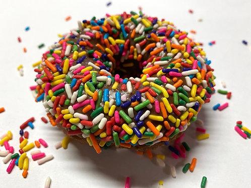 Rainbow Sprinkles Donut