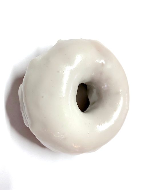 Vanilla Frosted Donut