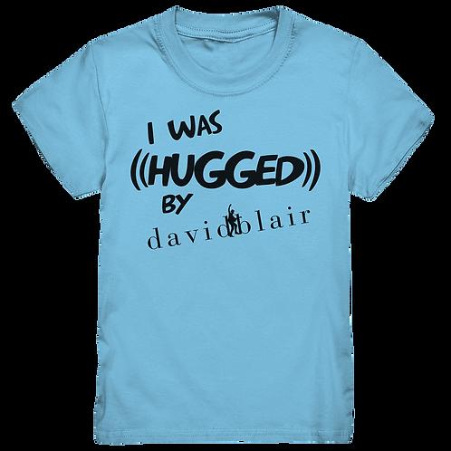 Kinder T-Shirt Himmelblau