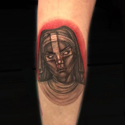 nun tattoo