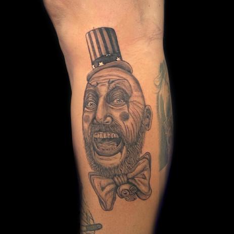 rob zombie film tattoo